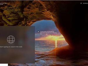 微軟嘗試為Windows 10鎖屏界面加入必應搜索框