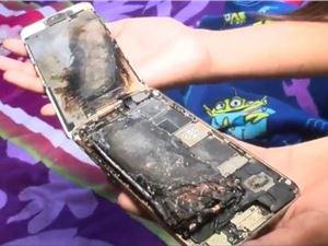 有惊无险!美国11岁女孩手持iPhone 6突然着火 尚不清楚原因