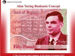 人工智能之父 图灵 图灵50英镑新钞
