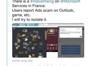 微软 恶意广告