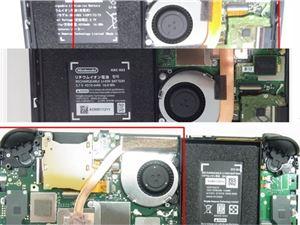 任天堂Switch Lite/新版Switch拆機照曝光:續航提升歸功新SOC
