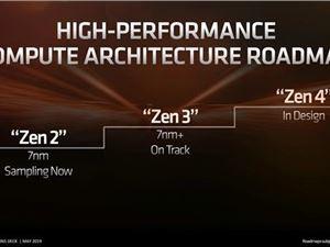进展神速 AMD Zen3架构已完成设计 Zen4在路上