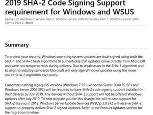 微软已阻止装有不兼容杀毒软件的Windows 7设备安装更新