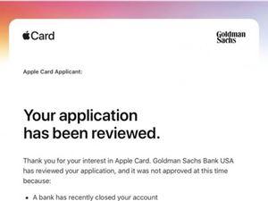 苹果概述为何部分Apple Card申请人可能会被拒绝