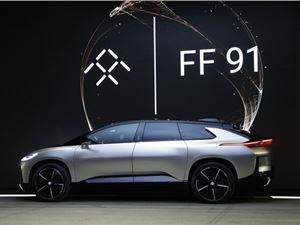 法拉第未来 FF FaradayFuture 法拉第未来电动汽车 贾跃亭 FF91电动汽车 FF91 法拉第FF91 法拉第FF FF91电动车 FF91汽车 恒大法拉第未来 法拉第未来工厂