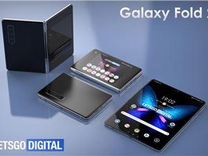 三星折疊屏手機 Galaxy Fold 2 專利及渲染圖曝光