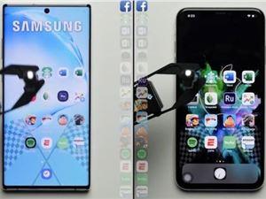 三星Note10+ iPhoneXSMax 速度测试