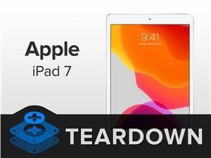 iFixit 拆解蘋果第七代 iPad:3GB 內存、電池容量不變