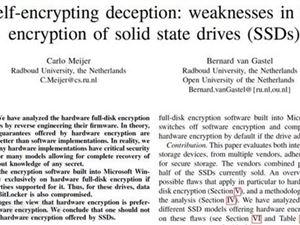 微軟將SSD默認加密切換到BitLocker軟件加密