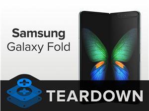 iFixit 再次拆解新三星 Galaxy Fold:可修復性 2 分