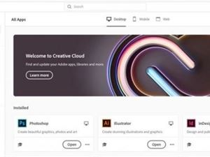 Adobe Creative Cloud桌面端重大改版:打造一站式商城