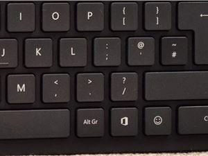 微軟推新鍵盤,新增office和emoji表情專用按鍵