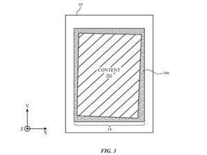 苹果提出颠簸环境下稳定手持设备显示的方法