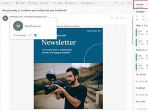 网页端Outlook现已整合Calendar和Microsoft To Do两项功能