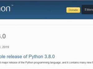 Python Python3.8.0