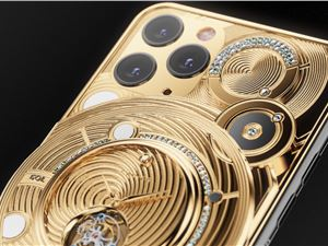 極致奢華 iPhone 11 Pro:0.5 公斤 18K 黃金及 137 顆鉆石打造!