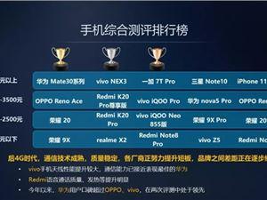 中国移动权威手机评测:华为Mate30获3500元以上冠军