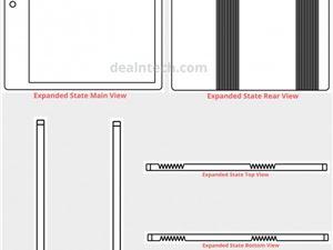 小米折叠屏专利曝光:双铰链/双折叠 还有四摄