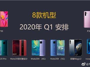 华为多彩AOD明年Q1上线:P30系列/Mate 20 Pro等8款机型支持