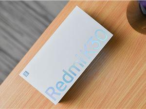 超小直径双孔+120Hz 流速屏 Redmi K30 深海微光开箱
