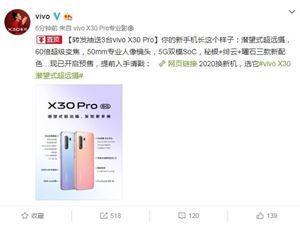 一張圖看懂vivo X30 Pro 60倍超級變焦讓你拍的更遠