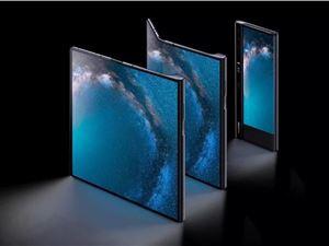 折叠手机 三星折叠屏手机 华为MateX