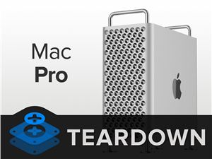 MacPro2019 苹果 MacPro拆解 ifixit