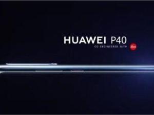 """余承東預告華為P40:2020年3月推出 設計""""前所未有"""""""
