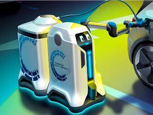 大众 充电机器人 电动汽车充电 外闻
