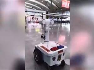 机器 测温巡逻机器人 口罩