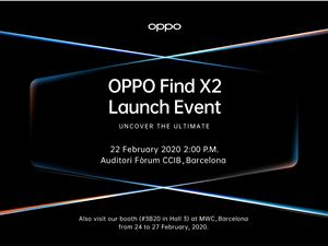 OPPOFindX2 OPPOFindX2發布會 OPPO