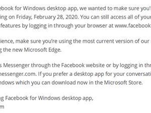 Facebook 网页 Windows
