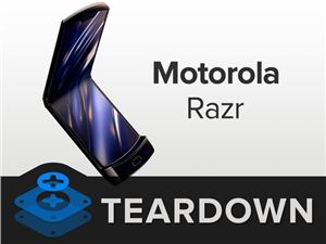 iFixit 拆解摩托罗拉纵向折叠屏 Razr:「迄今最复杂的手机」