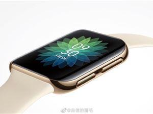 OPPO 首款智能手表 3D 玻璃曲面屏近照曝光