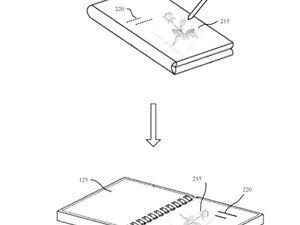 微软新专利展示类似于Galaxy Fold的可折叠手机设计