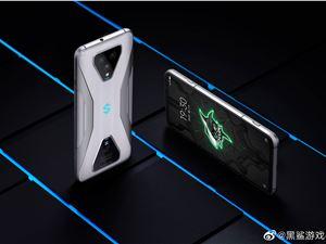 腾讯黑鲨游戏手机 3/Pro 官方图赏:大屏游戏手机,3499 元起