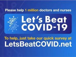 LetsBeatCOVID网站上线 跟踪冠状病毒在英国和美国的传播
