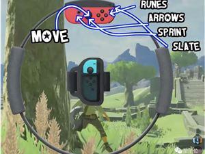 万物皆可健身环:UP主爆改switch,用健身环玩起《塞尔达传说之旷野「喘」息》