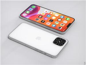 蘋果 iPhone 12 Pro 高清渲染圖曝光:更小「劉?!? 后置四攝