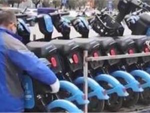 三四线城市共享电单车火了!约10个品牌抢占市场
