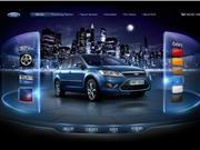酷页欣赏:Ford产品展厅页面