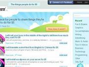 5美元服务 美网站Fiverr模式必会再次席卷互联网